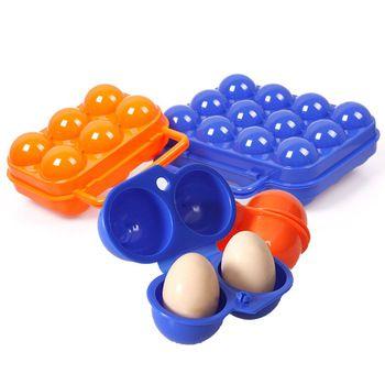 Складной отдых на природе небьющегося яйцо коробка для хранения яиц для 12 яиц держатель #54998