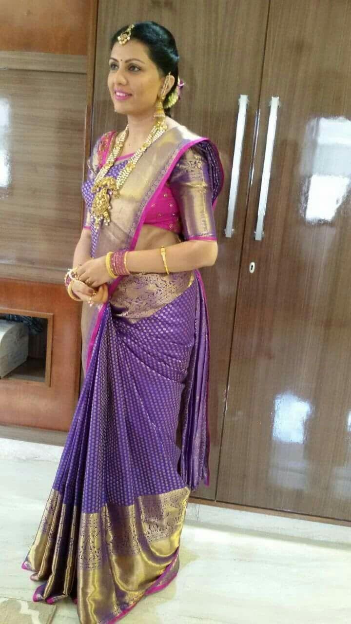 Jyothika traditional sari at shobi wedding saree blouse patterns - Indian Sarees Silk Sarees Arab Women Traditional Sarees Emerald Necklace Bridal Sarees Saree Collection Half Saree Blouse Designs