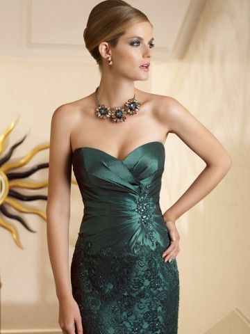 girls: Green Prom Dresses, Lace, Evening Dresses, Cocktails Dresses, Fashion, Mother Of The Bride, Mothers, Style, Bride Dresses