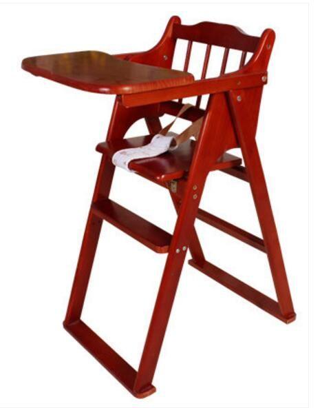 trona para sillas de mesa de madera maciza porttil silla de comedor de beb plegable