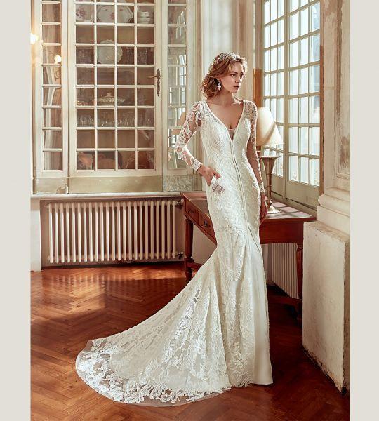 Vestidos de novia manga larga 2017: 60 diseños elegantes y con mucho estilo Image: 38