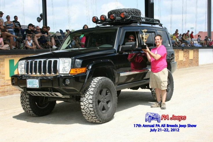 """Jeep Grand Cherokee and Jeep Commander 8"""" lift kit, i need to do this to mine"""