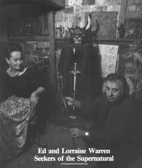Ed and Lorraine Warren, Seekers of the Paranormal.
