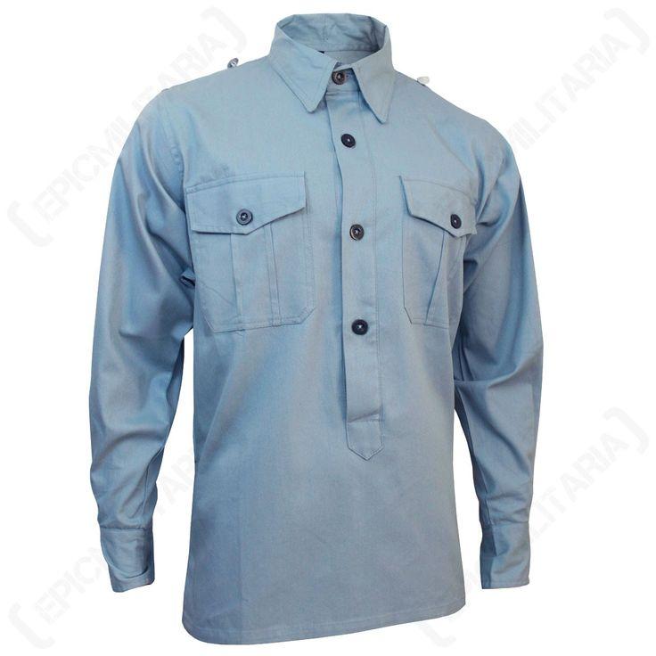 WW2 German Luftwaffe Blue Shirt