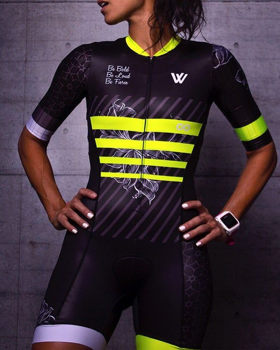 Download Flower Neon Trisuit Mockup Set Sports Apparel Template Biker Jersey Cycling Clothing Mockup T Cycling Outfit Cycling Jersey Design Womens Cycling Clothes