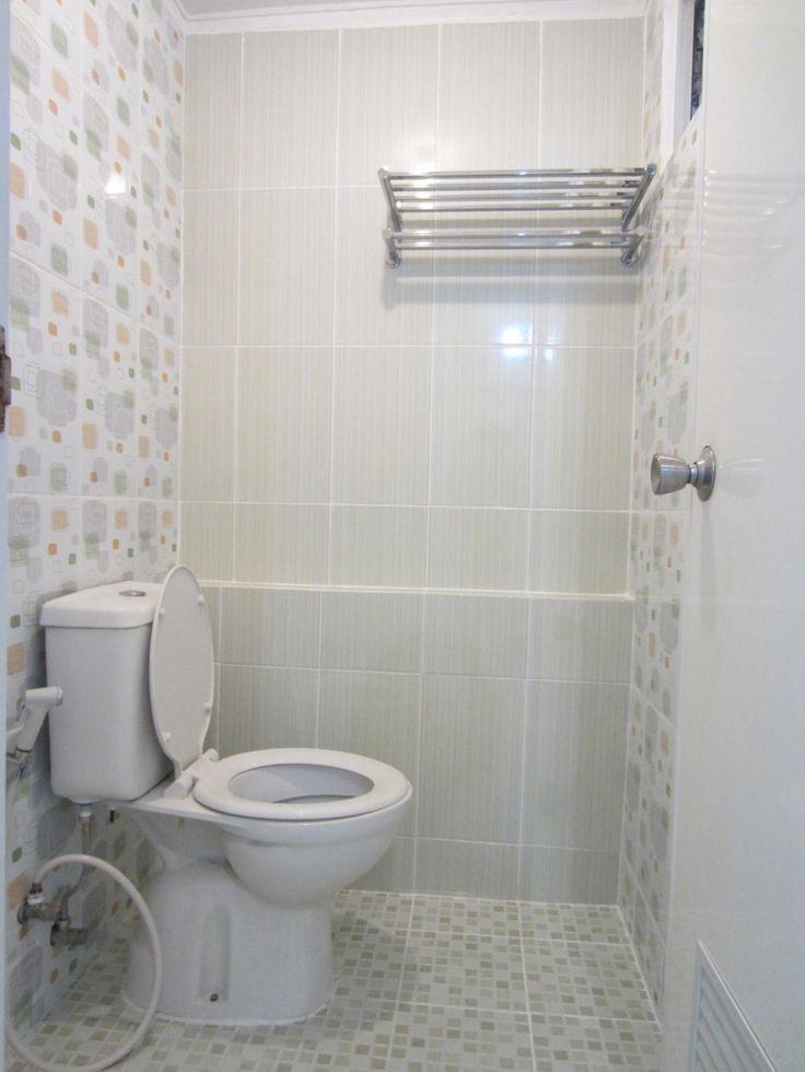 terang bersih dan nyaman #kamar mandi #minimalis #desain