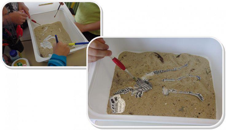 Les petits Paléontologues - chez Saperlipopette