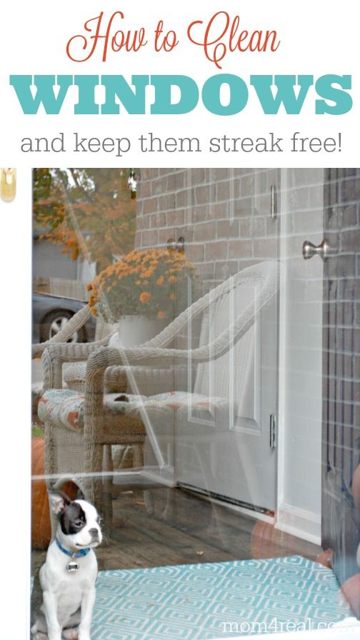 how to clean windows and keep them streak free home ovens and home tips. Black Bedroom Furniture Sets. Home Design Ideas