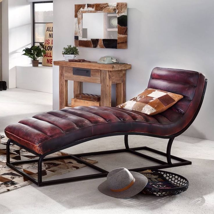 Hypnosis get under the Spell and look at this Amazing brown leather lounger Hypnotherapy styling interior chair, It's a show-stopper and designed in Germany