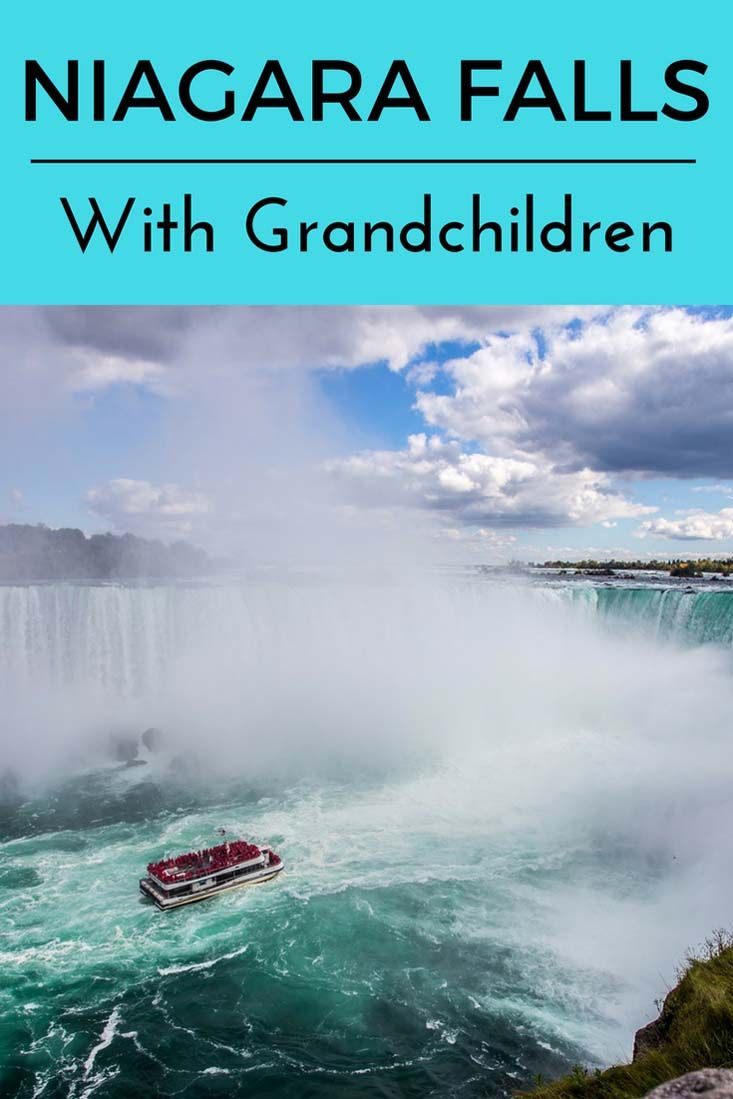 Niagara Falls With Grandchildren #Ontario #canada #family #familytravel