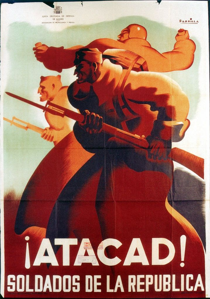 Soldiers of Republic, attack! 1937 || Spanish Civil War