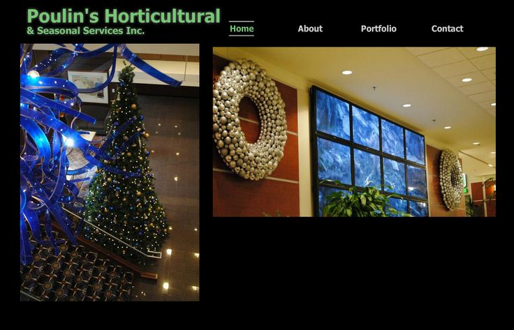 Poulin's Horticulture Website