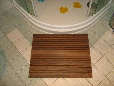 Mata-dywanik łazienkowy z drewna dł 40, Twoja szer