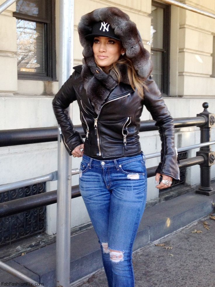 Cool Jennifer Lopez Winter Street Style Fall Winter