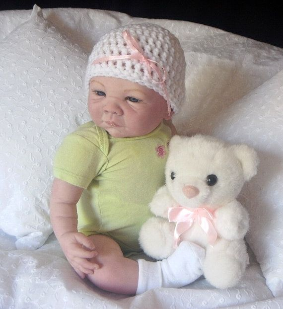 Paisley Custom Reborn Doll by D Pratt by littledarlinsnursery