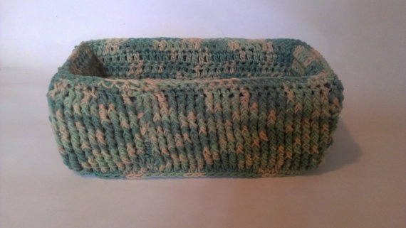 Crochet: from yarn, thread, or other material strands using a crochet ...