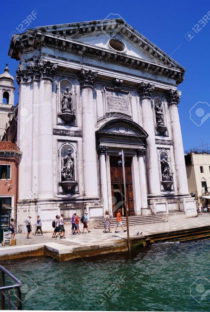 Santa Maria Del Rosario Church, Venice, Italy Stock Photo, Picture And Royalty Free Image. Pic 44266575.