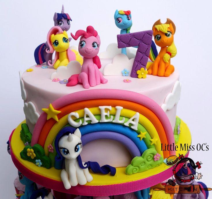 My Little Pony Cake Decoration Topper
