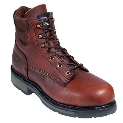 Thorogood Boots Men's 804-4203 American Heritage Safety Toe Boots