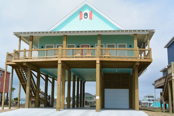 Vacation Rental Homes in Crystal Beach, Texas