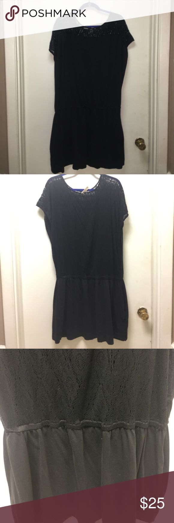 Lane Bryant Swuim Suit Cover Up Black Lane Bryant Swim Suit Cover Up. Back is Mesh like. Has a band. I got it big but normally wear an 18. Super comfy, used but has lots of life left. Lane Bryant Swim Coverups