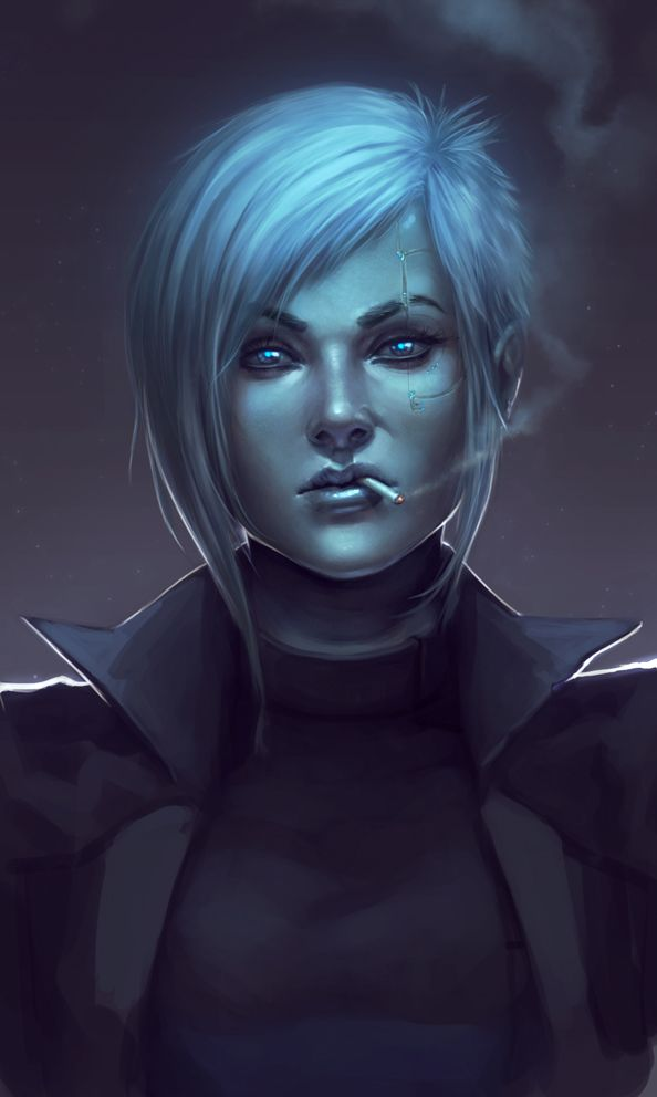 A new Killer Frost? An android Frost?! Name : Nero? Race : Android Build by Freeze!