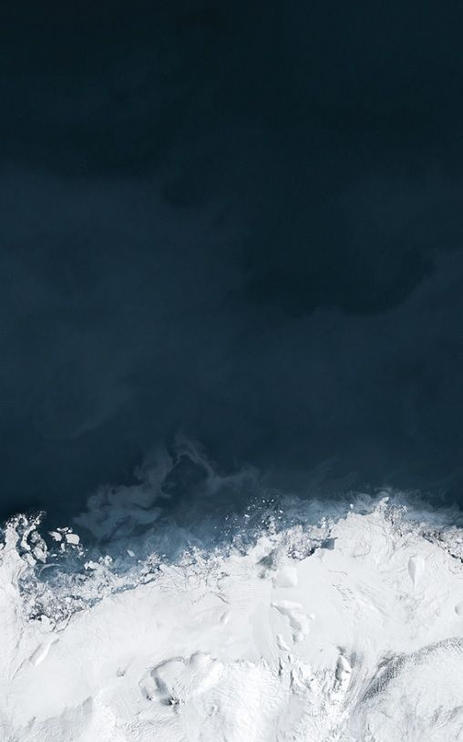 Andreas Gursky - Ocean IV (Detail)