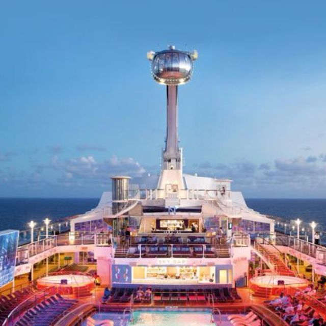Royal Caribbean Cruise PackagesVessel Ovations Of The Seas - Caribbean cruise prices