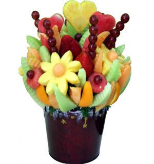 I wish we had an edible arrangements.. I think we could make this tho..