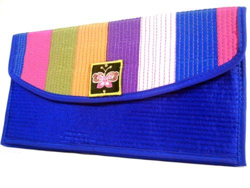 WALLET Rainbow Blue - WiseGloves FABRIC WALLET CLUTCH HANDBAG ORGANIZER PURSE CASE BAG - http://www.styledetails.com/wallet-rainbow-blue-wisegloves-fabric-wallet-clutch-handbag-organizer-purse-case-bag - http://ecx.images-amazon.com/images/I/51XqwDr98sL.jpg