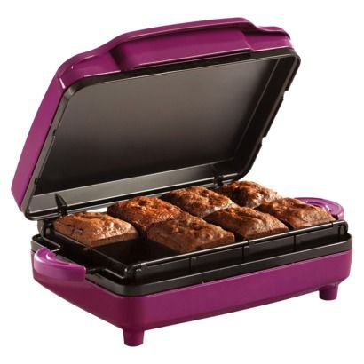 Purple Brownie Maker - Makes 8 perfect-sized & evenly cooked brownies. Great for kids & busy parents.