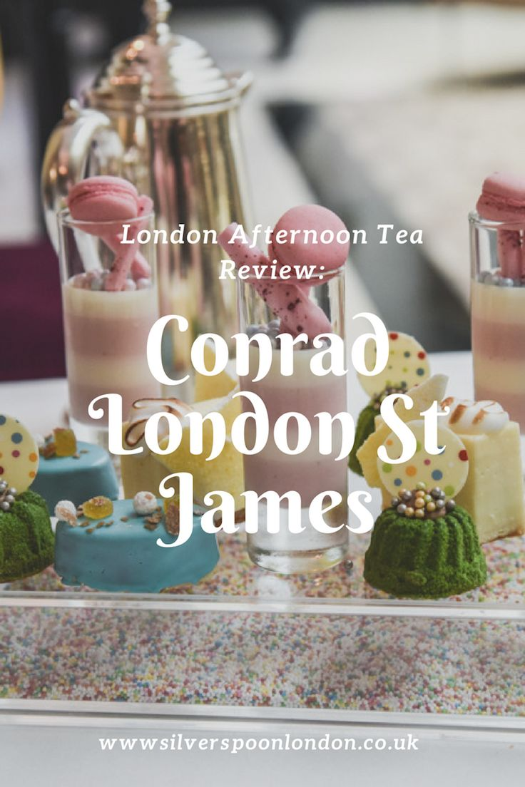 Afternoon tea review: Conrad London St James