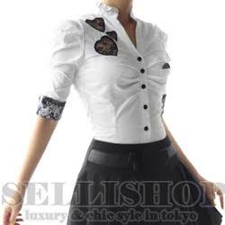 【SELLISHOP】fit-51985リボン網ブラウス[1色]BLS【セール特価】[ブラウス・ドレス・9号・11号・13号,]4750円以上【楽天市場】  8,550