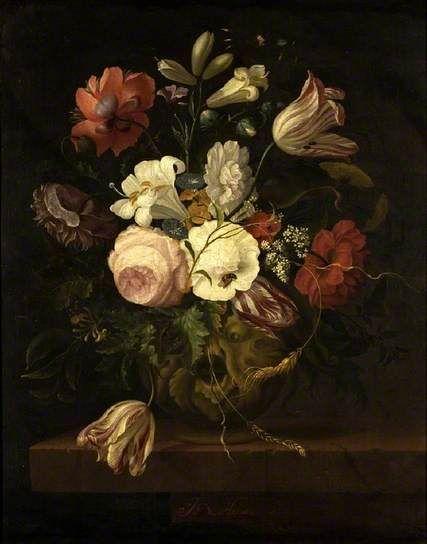 Antoni de Lust: Flower Piece