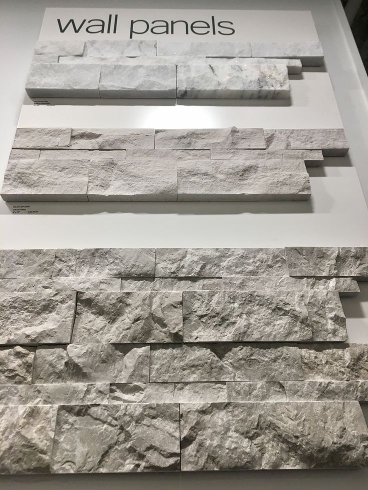 ELEVATED STONE WITH DIMENSIONAL DEPTH  Wall Panels provide a rustic and rugged appearance. Its elevated layout gives the stone mosaic dimensional depth but only allows it to be used on areas such as fireplaces, walls, and borders.