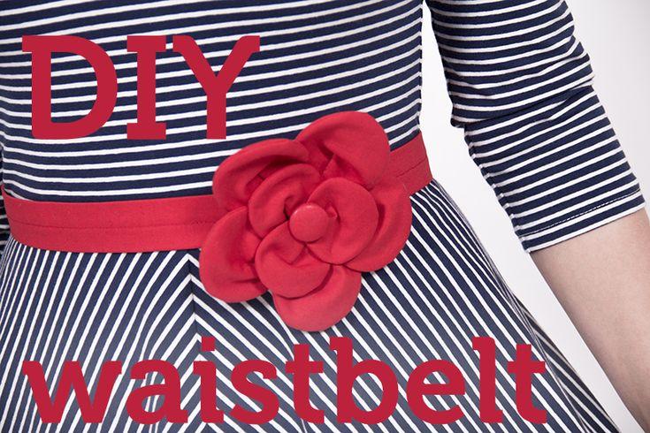 Schnittmuster Taillengürtel | sewing pattern waistbelt