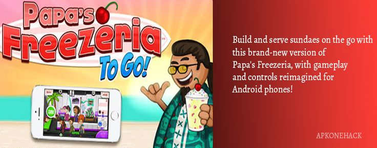 Papas Freezeria To Go is an Strategy game for android Download latest version of Papas Freezeria To Go Apk [Full Paid] 1.1.1 for Android from apkonehack with direct link Papas Freezeria To Go Apk Description Version: 1.1.1 Package: air.com.flipline.papasfreezeriatogo  36MB  Min: Android...