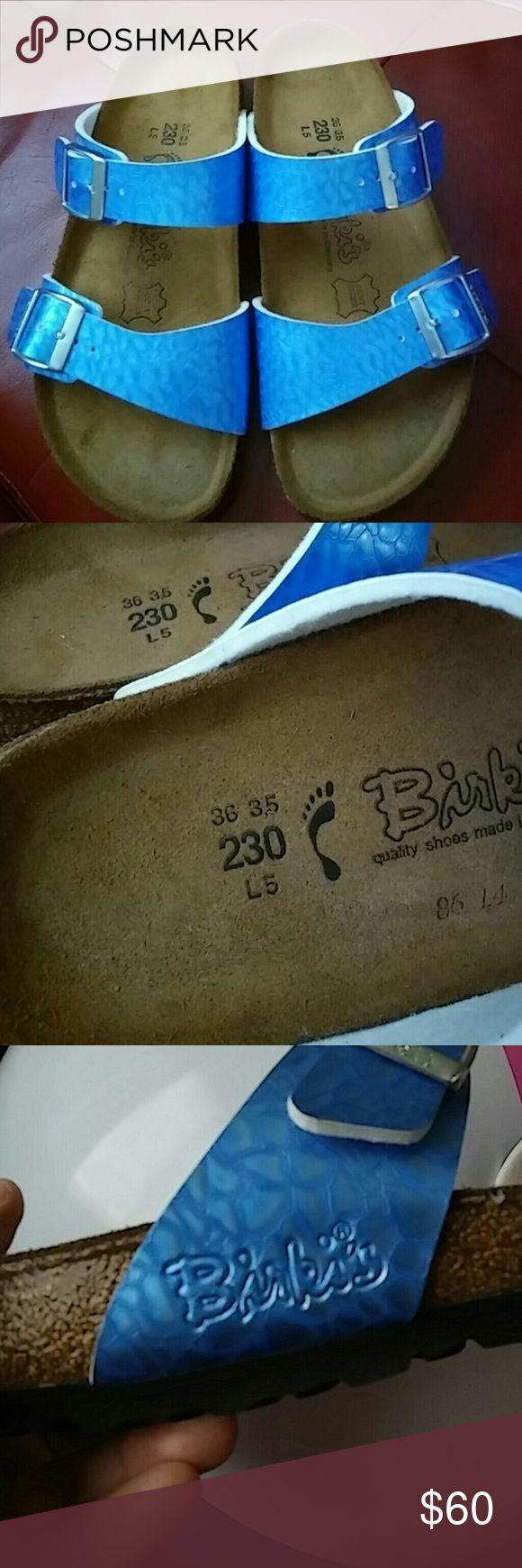 Birkenstock Sandals Usen once inside the house.EUC Birkenstock Betula Sandals Birkenstock Shoes Sandals