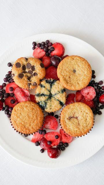 Easy vegan vanilla muffins