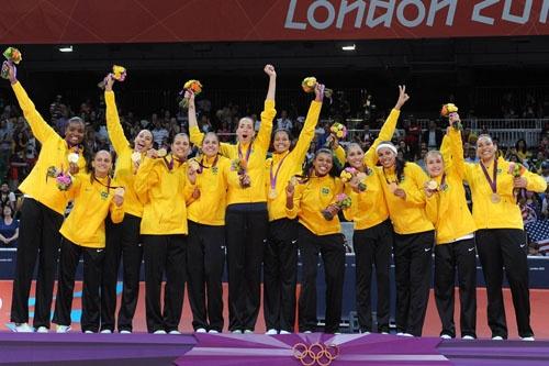 Volei feminino do Brasil - Londres 2012 Campeãs olímpicas