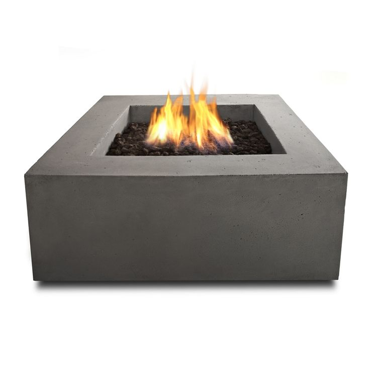 Shop Real Flame T9620LP-GLG Baltic Square Propane Fire Table in Glacier Gray at Lowe's Canada. Find our selection of fire pits at the lowest price guaranteed with price match + 10% off.