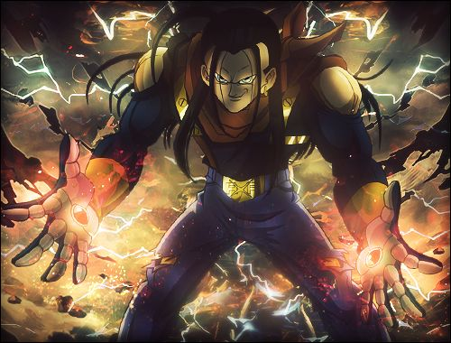 super android 17 | Super Android 17 - Signature by ArtieFTW on deviantART