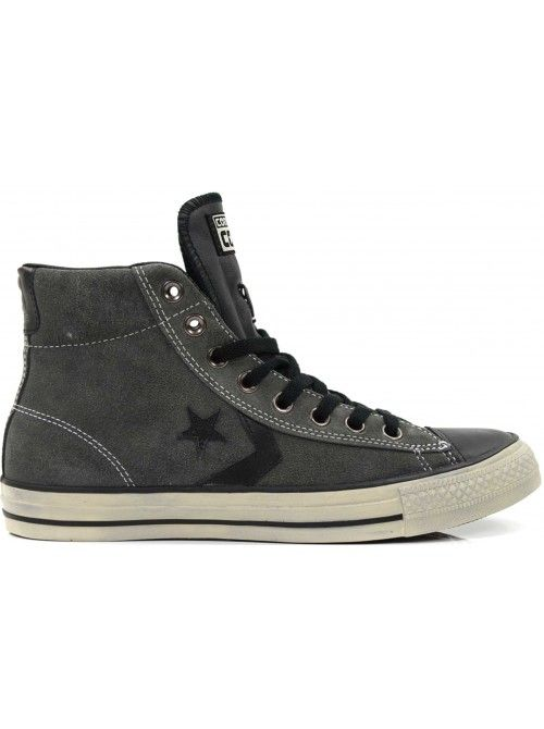 Converse All Stars Men Shoes Mid Sue Grey - Men's Shoes - Onlinesneakershop.