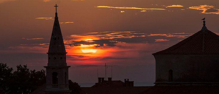 Sunset. Zadar, Croatia