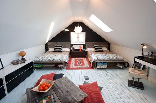 white wooden floorboards
