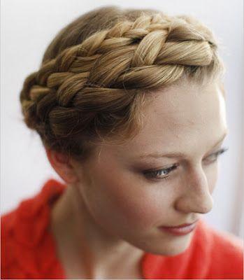 Peinados a la Moda: Trenza vincha - Elegancia y sofisticación - Moda 2013