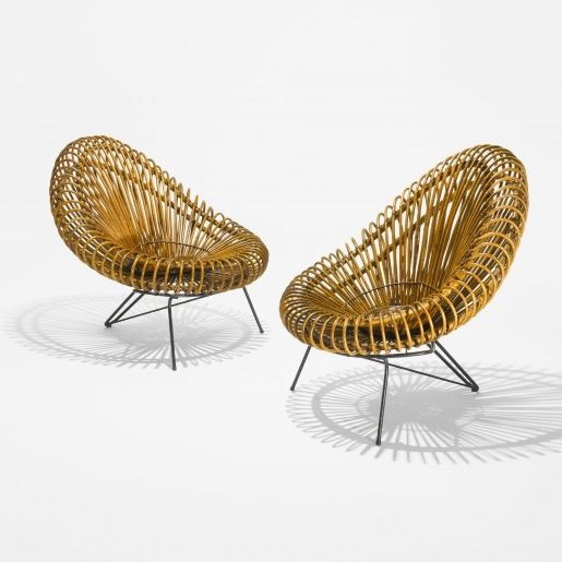 Chairs by Franco Albini (1950)