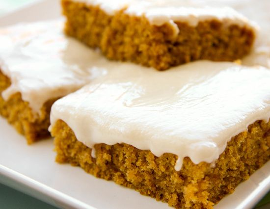 Pumpkin bars!!