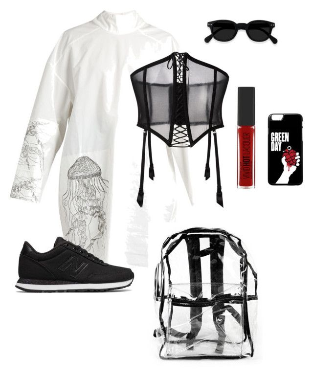 """""""Untitled #7"""" by explorer-14916524201 on Polyvore featuring A.W.A.K.E., FOLIES BY RENAUD, New Balance and Maybelline"""