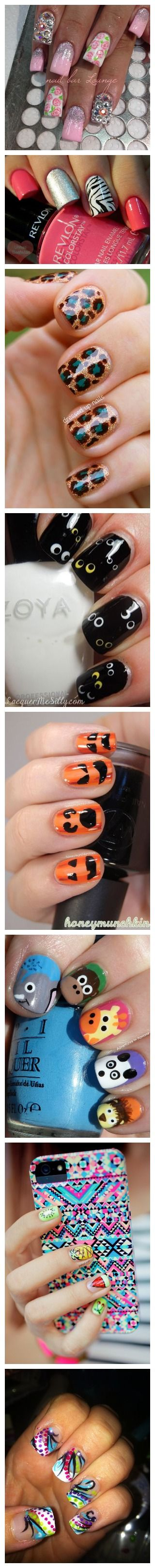 1089 best Nails wow! images on Pinterest | Nail art, Nail design and ...